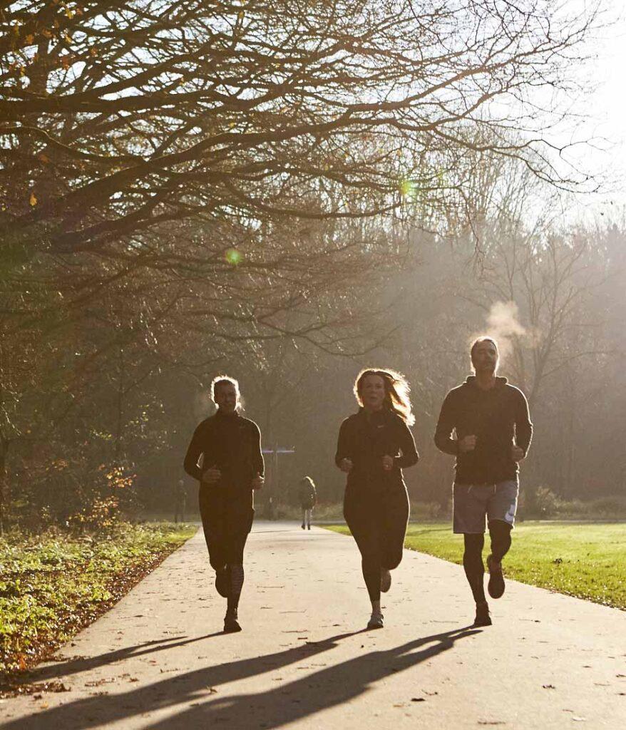 hardlopen met vriendinnen IJburg
