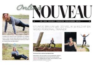 Personal Trainer Stijntje Bruijn van IJburg, hoe viel ik 30 kg af
